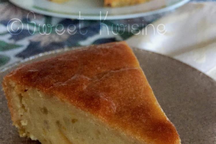 Gâteau de patates douces et coco ou gateau malélevé