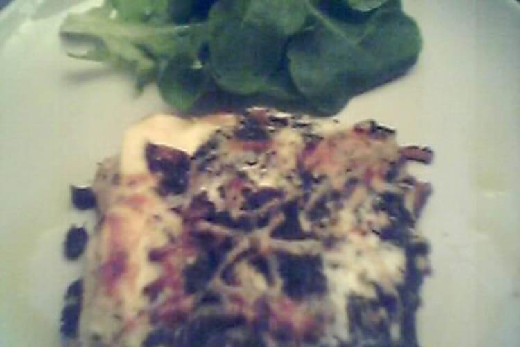 Lasagnes aux cèpes et aux épinards