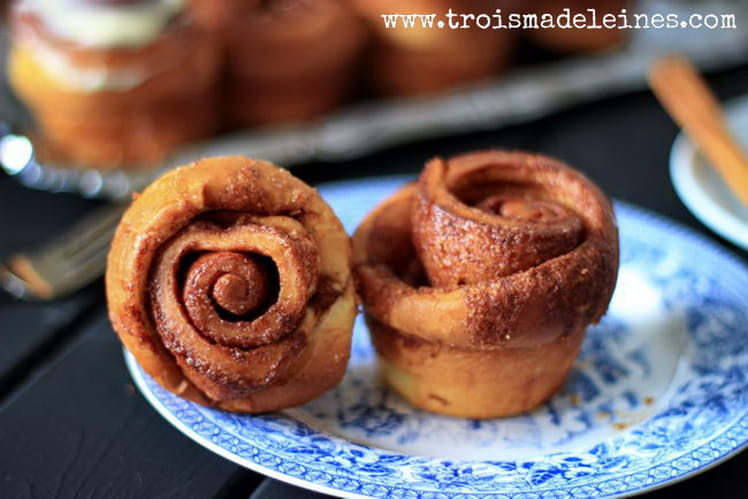 Muffins Cinnamon Rolls