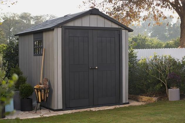 abri de jardin oakland de keter chez mr bricolage. Black Bedroom Furniture Sets. Home Design Ideas