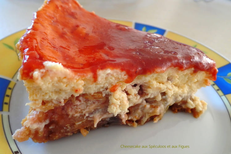 Cheesecake aux Speculoos et aux figues