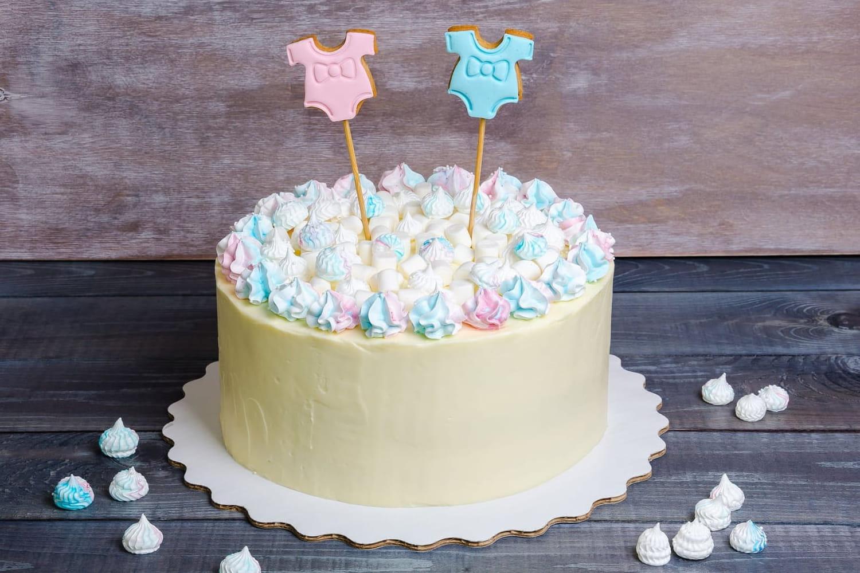 Gâteau révélation du sexe de bébé