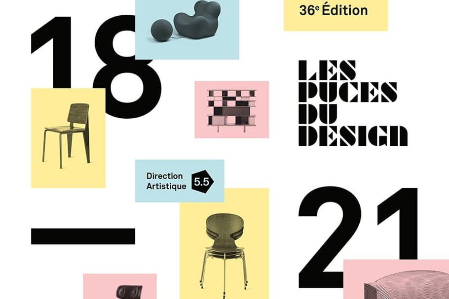 les puces du design 2017 sensibilisent au mobilier contrefait. Black Bedroom Furniture Sets. Home Design Ideas