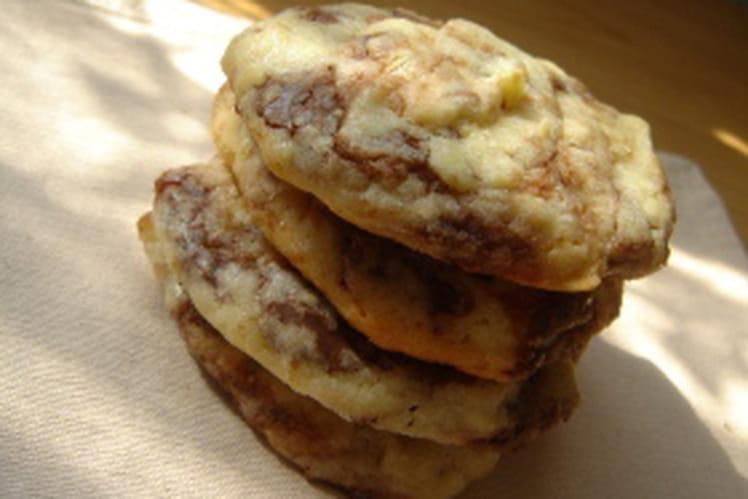 Soft cookies au chocolat