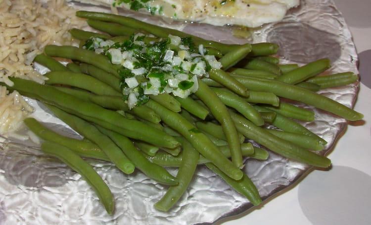Recette de haricots verts la gremolata la recette facile - Cuisiner haricots verts surgeles ...