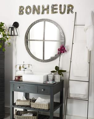 Beau hublot for Miroir jardin d ulysse