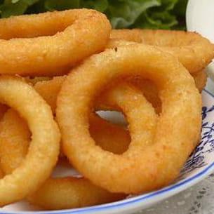 oignons en beignet (onion rings)