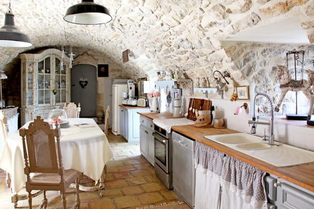Une cuisine de charme
