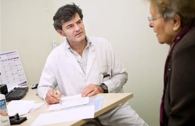 consultation de génétique en cancérologie.