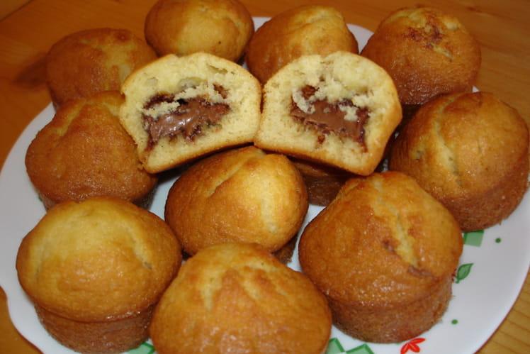 Muffins au praliné