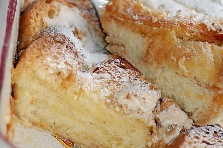 Gâteau de brioche au nougat