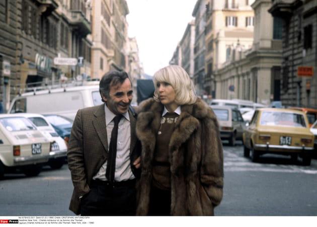 New York avec Ulla, en 1980