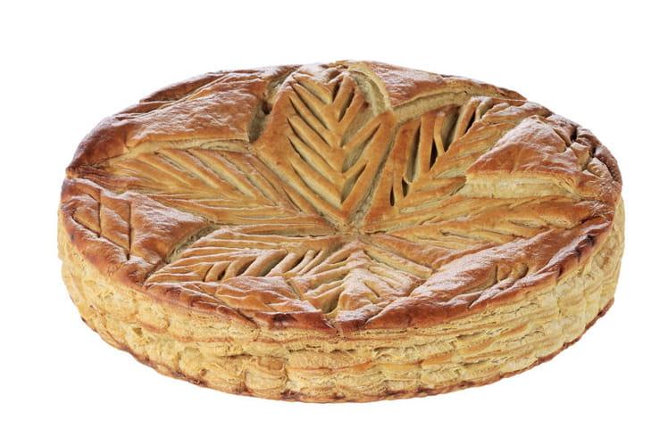 Galette des rois choco-pistaches de Gontran Cherrier