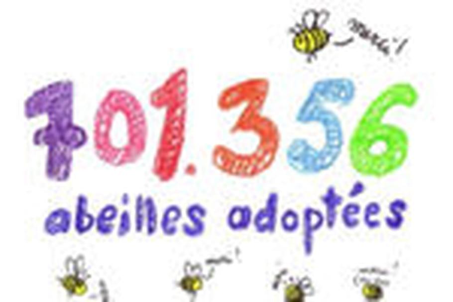 "701 356 ""innocentes"" abeilles adoptées"