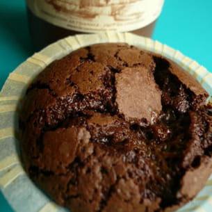 fondant au chocolat et caramel breton