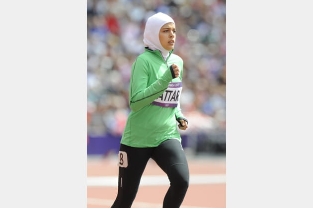 Sarah al-Attar, athlétisme