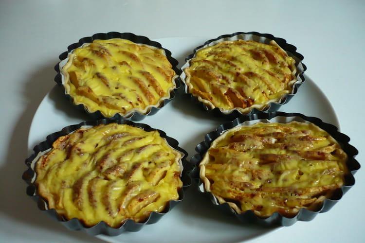 Tartelettes pomme-cannelle
