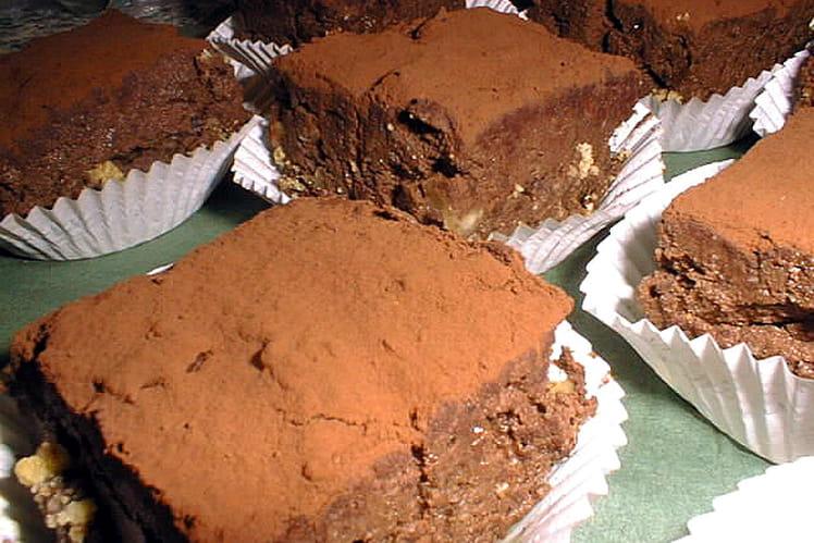 Fondants chocolat-noisettes