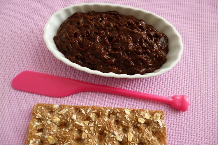 Pâte à tartiner diététique pomme pruneau chocolat