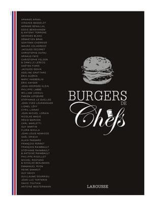 livre burgers de chefs, éd. larousse
