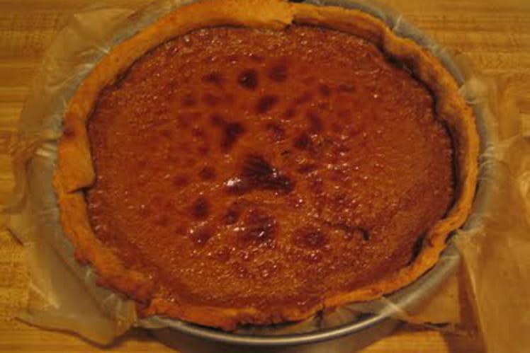 Tarte à la citrouille (pumpkin pie)