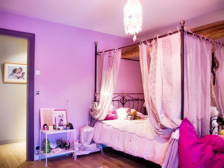 Une chambre digne d 39 une princesse for Description d une chambre de fille