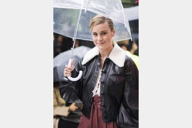 Brie Larson au défilé Rodarte