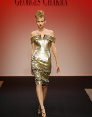 défilé georges chakra couture hiver 2010-2011