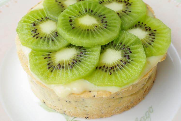 Tarte exotique au kiwi