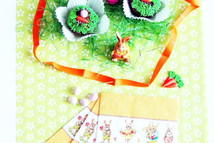 Cupcakes de Pâques à la vanille de Madagascar
