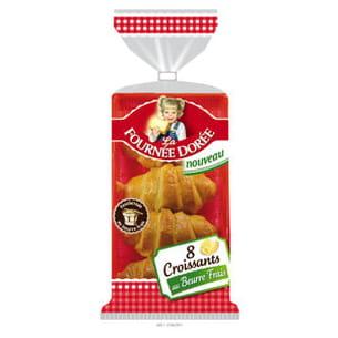 croissants au beurre frais de la fournée dorée