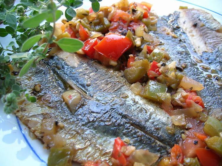 Recette de filets de sardines en escab che la recette facile - Cuisiner des filets de sardines fraiches ...
