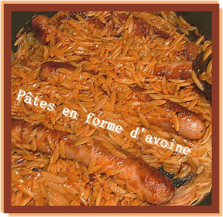 Recette avoines de savoie aux saucisses et tomate la - Cuisiner des saucisses fumees ...