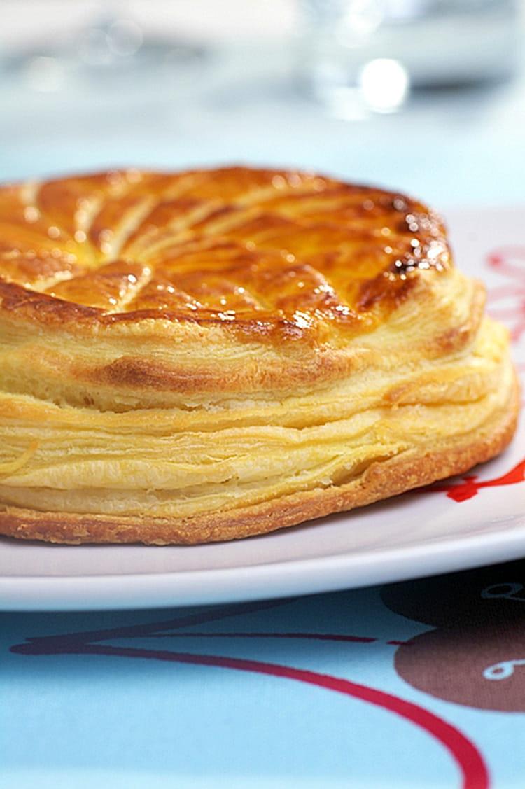 Recette de galette des rois ricotta saumon la recette facile - Recette facile galette des rois ...