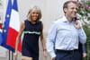 Jet ski, visite surprise, bronzette: les vacances des Macron à Brégançon