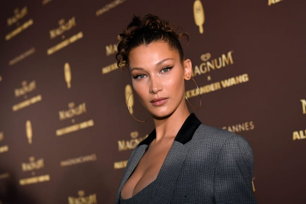Bella Hadid, captivante