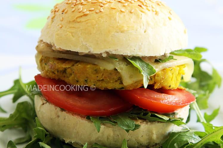 Burger steak végétarien sauce Big Mac