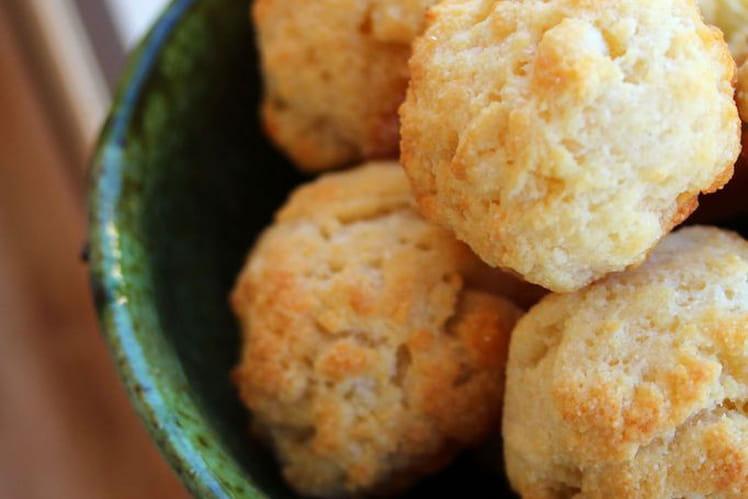 Petits choux au fromage brésiliens : \