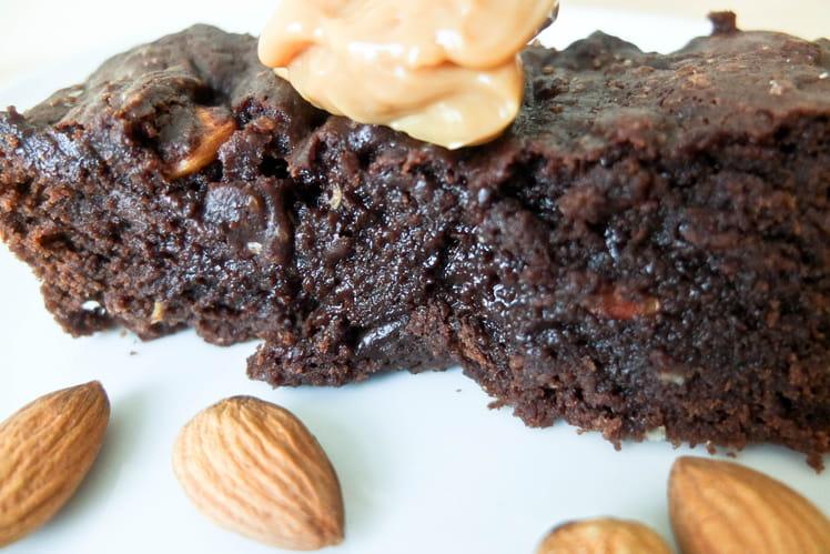 Brownie aux amandes