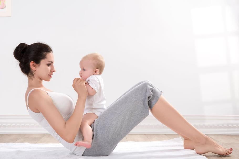Comment retrouver la ligne après l'accouchement?