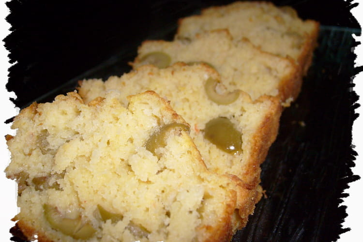 Cake crabe-olive
