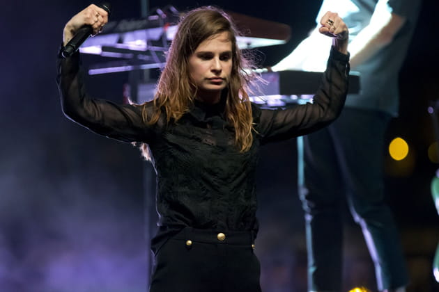1ère: Christine and The Queens, chanteuse
