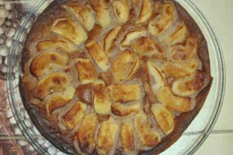 Clafoutis pomme-châtaigne