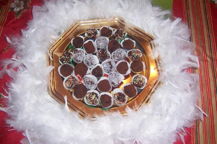 Truffes de Noël surprise