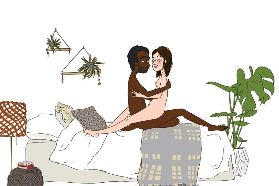 La position sexuelle du lotus, sensuelle et torride