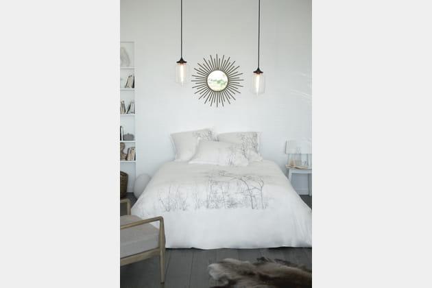 Parure de lit Charme par Carré Blanc
