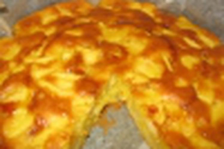 Gâteau divin aux pommes