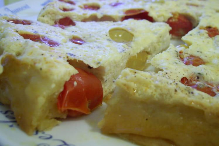 Tatin tomates-cerises et feta