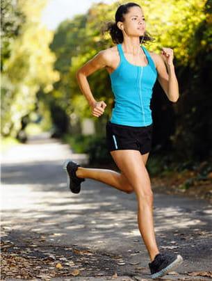 30 minutes de sport par jour aident à se sentir mieux.