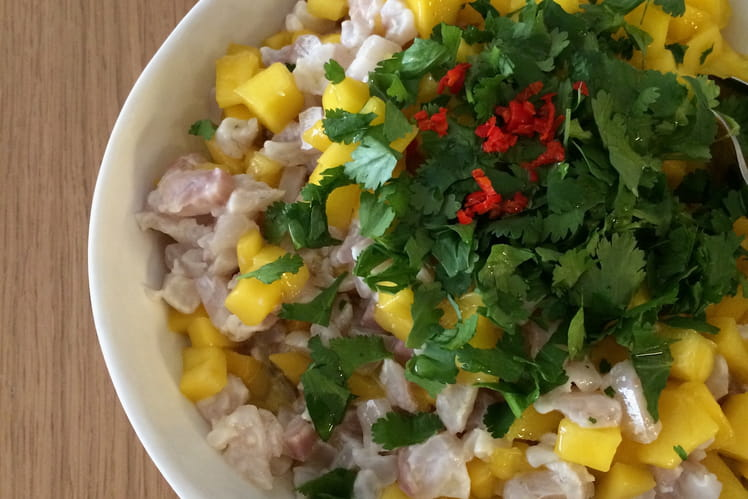 Ceviche de bar à la mangue